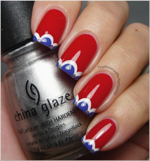 4th Of July Nails For YOU!!!